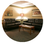 Image of 7 Stones Acupuncture and Wellness Center's waiting room.